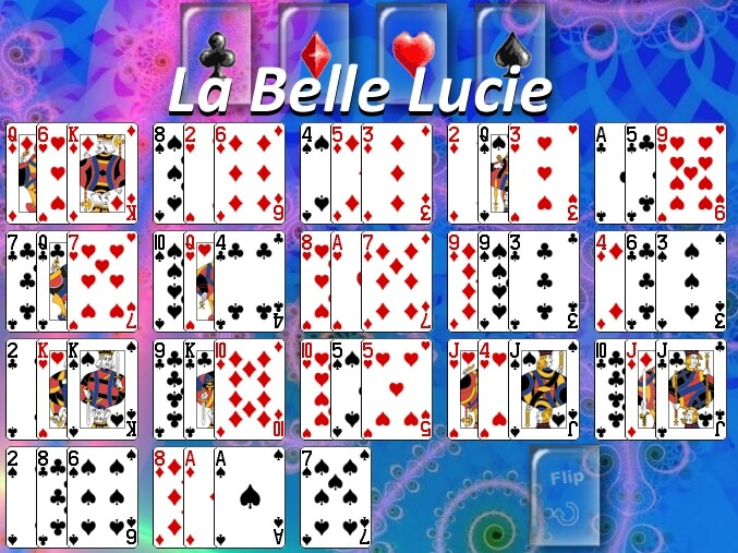 How to play La Belle Lucie Solitaire